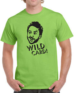 139-Wild-Card-mens-T-shirt-funny-bar-tv-show-character-charlie-vintage-philly
