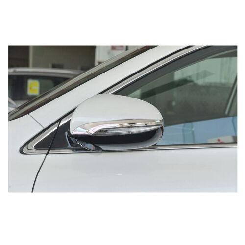 2PCS ABS Chrome Rear view Side Mirror Decorate Trim For KIA Sorento 2015-2019