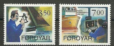 Schiffe-seefahrt/ Farör Minr 264/65 ** Briefmarken