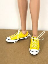 1//6 White Shoes for Fashion Royalty Integrity Doll Male Homme Men 12 inch Dolls