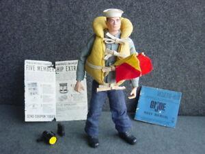 Gi Joe Action Vintage Sailor Tm Pinhead avec Marine Attack Set
