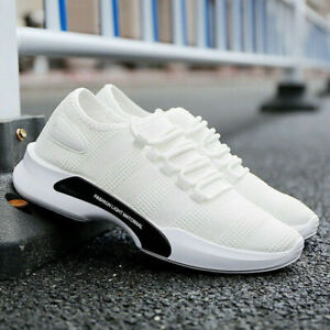 All UK SIZE Mens Trainer Fitness Gym Sneakers Casual Sports Breathable Shoes new