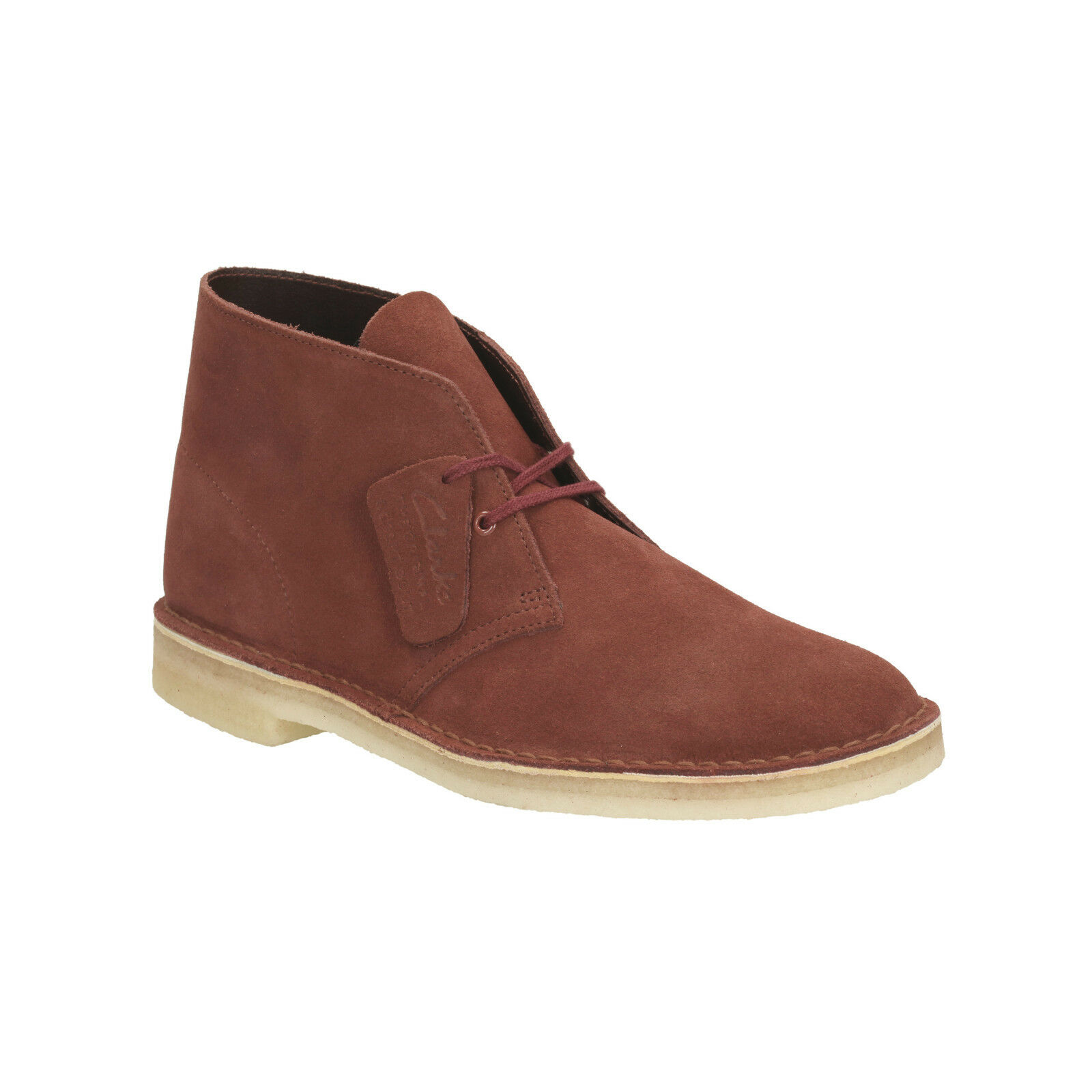 Clarks Originals Mens Desert Boot Terracotta Lace Up Suede Boot
