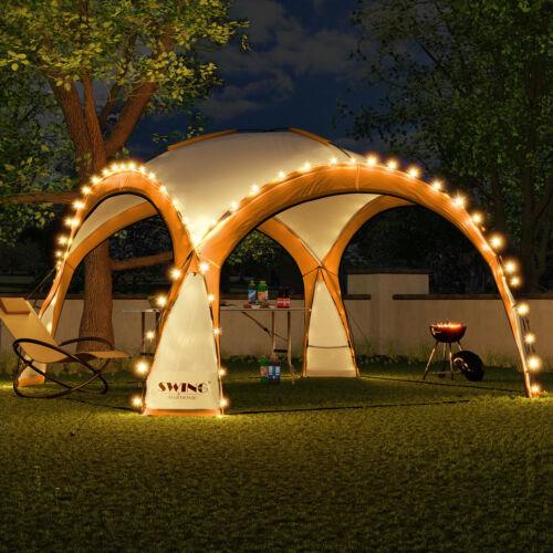 LED-Event tendone party tendone da giardino Pavilon Giardino Tenda Campeggio Solare Pavilion