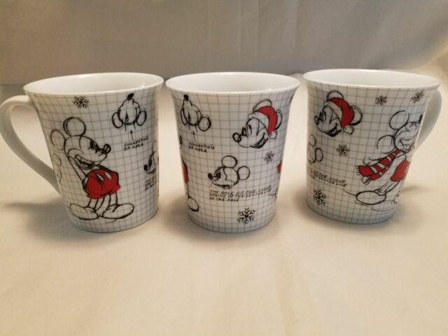 Disney Mickey Mouse Christmas Sketch Book Mug