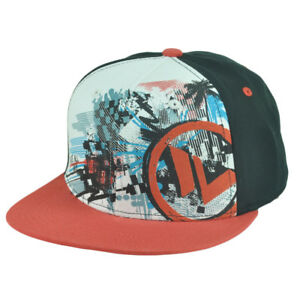 b491fc0b159 Shaun White Snow Boarder Skater Snapback Flat Bill Hat Cap Youth ...