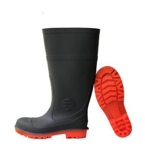 mens knee high wellies garden rain boots casual outdoor