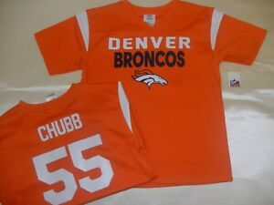 72b0b33a 8612 YOUTH Kids Boys Denver Broncos BRADLEY CHUBB Football JERSEY ...