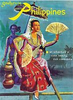 Southern Republic Of The Philippines Vintage Travel Advertisement Art Poster