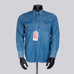 67865bd945 LVC Levis Vintage Clothing 1955 Sawtooth Denim Shirt XS S L XL 07205 ...