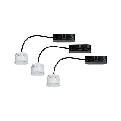 Radient Led Coin Leuchtmittel Lampe Licht Warmweiß 3x6.8w Satiniert 51mm Paulmann 938.20 Der Preis Bleibt Stabil