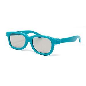 4-Blue-Pares-infantil-Pasivo-3d-Gafas-infantil-Vizio-LG-TOSHIBA-Mas