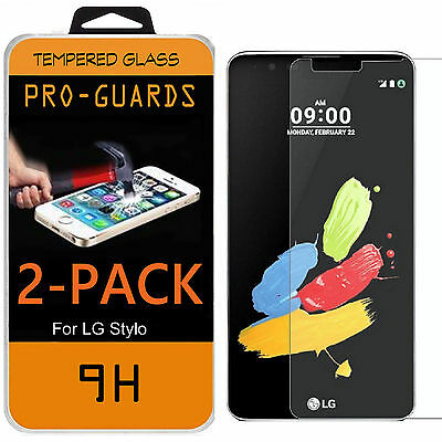 Premium Tempered Glass Screen Protector for LG G Stylo 2 / LS775 / Stylus 2