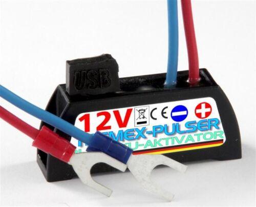 Frantumale Plus, Digitale Batteria Piombo-specifico per 6 e 12v; AUTO MOTO batteria solare