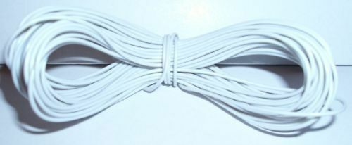 Model Railway//Railroad Layout//Point Motor etc Wire 1x15m Roll 7//0.2mm 1.4A White