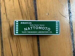 Nattomoto Japanese Traditional Food Probiotic Powder Natto 3g ship from US