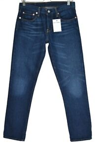 Damen-Levis-501-CT-Boyfriend-Relaxed-Tapered-dunkelblau-Crop-Jeans-8-w26-l32-l28