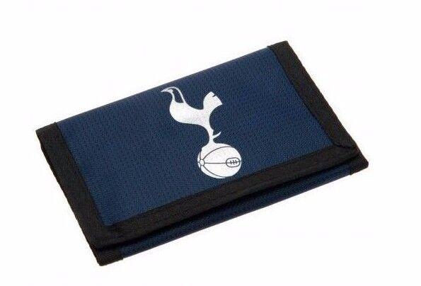 Tottenham Hotspur Fc Spurs Nylon Wallet Blue Black Foil Print Football Game For Sale Online Ebay