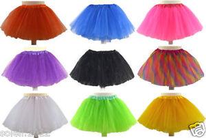 Tuetue-Sterne-Uni-Tuellrock-Petticoat-Ballett-Tutu-Ballettrock-Kinder-92bis176Rock