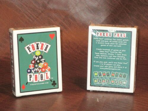 Poker Pool Playing Cards