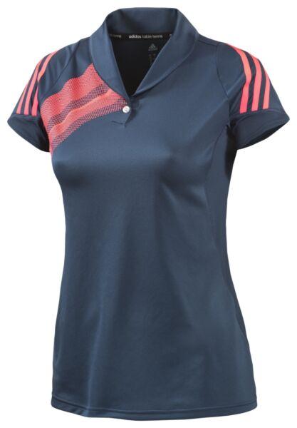 Adidas Atake Polo Women blau NEU