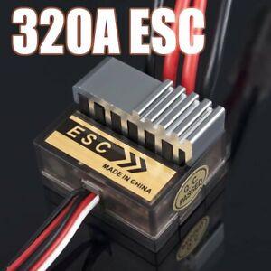 Nuevo-320A-Controlador-de-Velocidad-Cepillado-ESC-para-RC-Coche-Barco-Camion-Motor-R-C