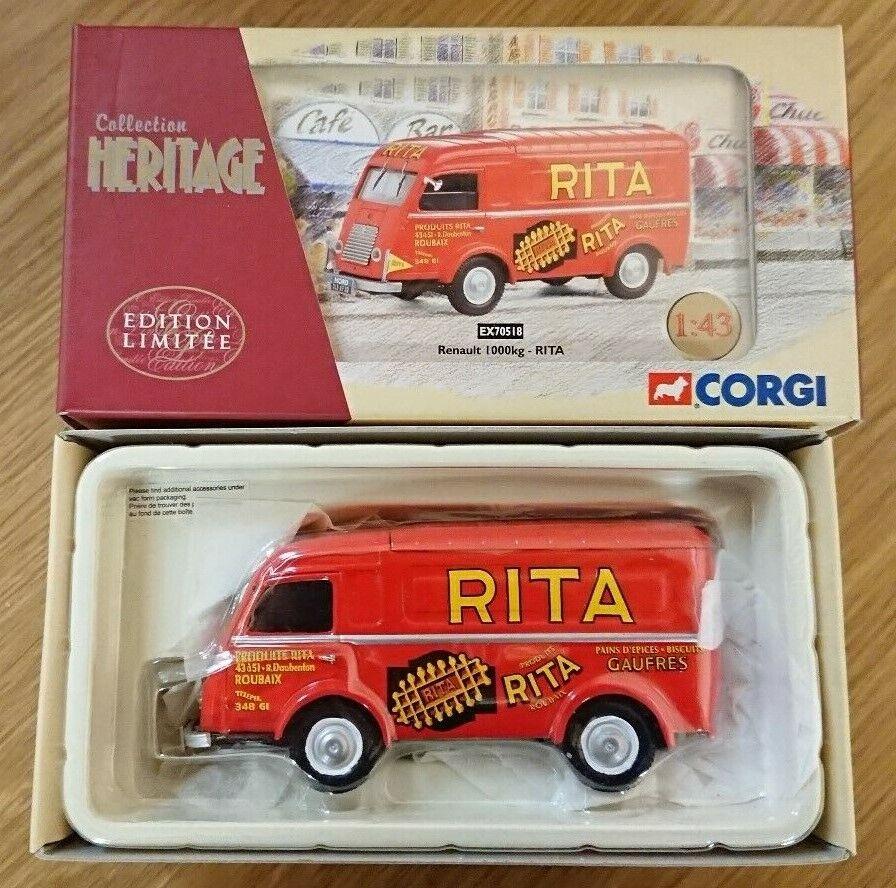 Corgi EX70518 Renault 1000kg RITA Ltd Edition No. 0003 of 2800