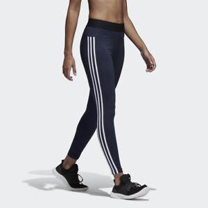 adidas Essentials 3 Streifen Tight Fitness Laufen Training Hose CF8867