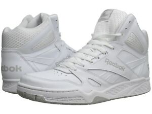 fb4d0f90f5 Details about Reebok Royal BB4500 Hi X-Wide 4E Sneakers Sizes 7.5 thru 12  White/Steel
