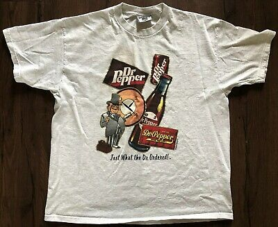 Vintage Dr Pepper Mens T Shirt Xl Just What The Dr Ordered Lee Usa