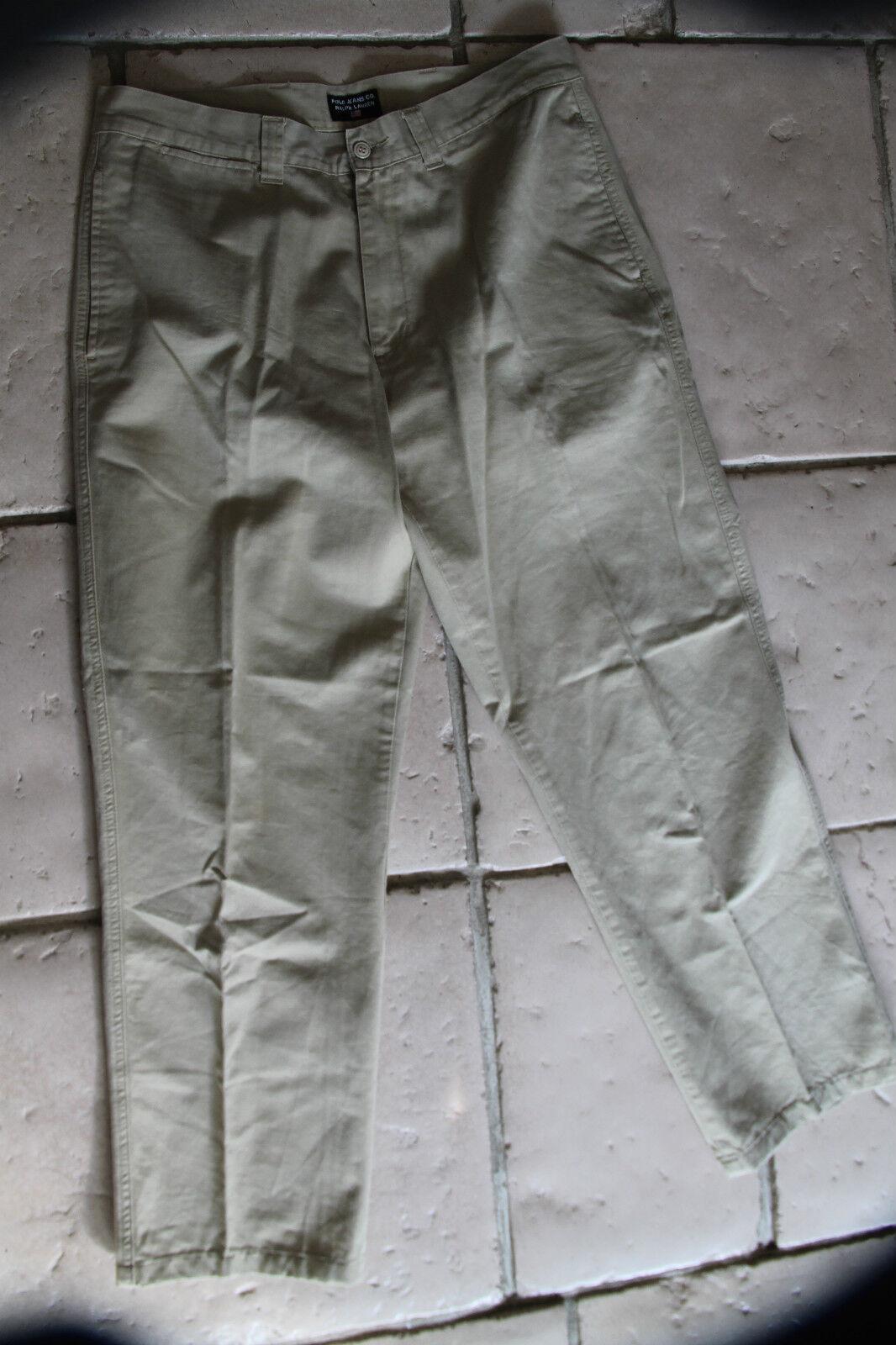 Pantaloni jeans beige POLO RALPH LAUREN taglia taglia taglia W36 L32 eccellenti condizioni 034d0c