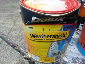 DULUX-4-LITRE-WEATHERSHIELD-EXTERIOR-GLOSS-VIVID-WHITE-COLOUR-PAINT