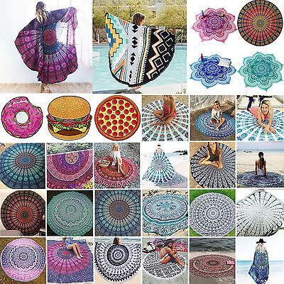 Indian Mandala Tapestry Ethnic Beach Towel Hippie Picnic Blanket Throw Yoga Mat