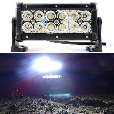 "36W Light bar LED spot Work off road fog driving 4x4 roof bar bumper atv 7"""