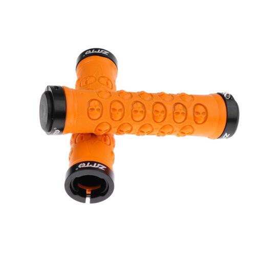 1 Pair Bicycle Handlebar Grips Lock-on Bar Grips Non Slip MTB Bike Bar Grip