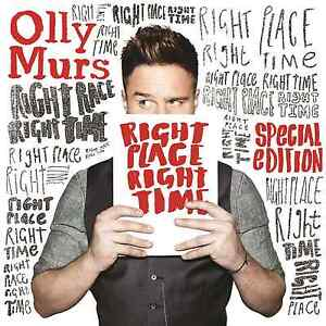 Olly-Murs-Right-Place-Right-Time-CD-amp-DVD-7-EXTRA-TRACKS-NEW-amp-SEALED