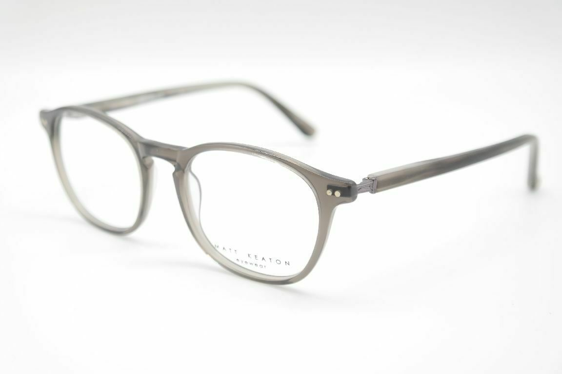 Matt Keaton MK1055 50[]19 145 Grau oval Brille Brillengestell eyeglasses Neu