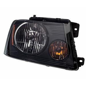 2004 2008 Ford F150 Harley Davidson Blackout Smoked Headlight Lamp