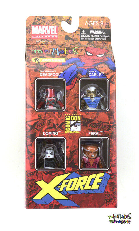 Marvel Minimates Sdcc X-Force Cofre