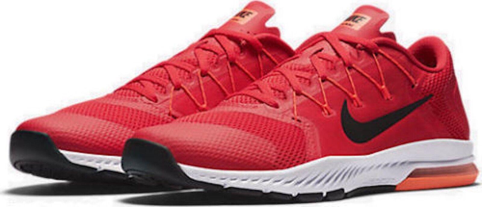 Nike metcon 2 rosso / bianco / rosso Uomo taglia 10 siringhe di euc!819899-610 formazione