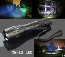 Military Grade Tactical Flashlight LED XM-L2 2500 Lumens 1300TL Style US Stocks