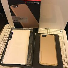 Element Case Solace LUX in lega di metallo Poly Hybrid Rugged ROSE GOLD IPHONE 6 & 6s