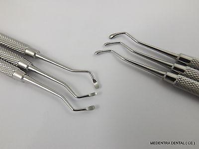 Set of Dental Excavators X 3 Restorative Instruments Escavatori Spoon Dentist SS