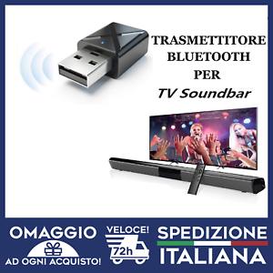 Trasmettitore Bluetooth e Ricevitore per Smart TV HIFI PER CUFFIE E SOUNDBAR🇮🇹