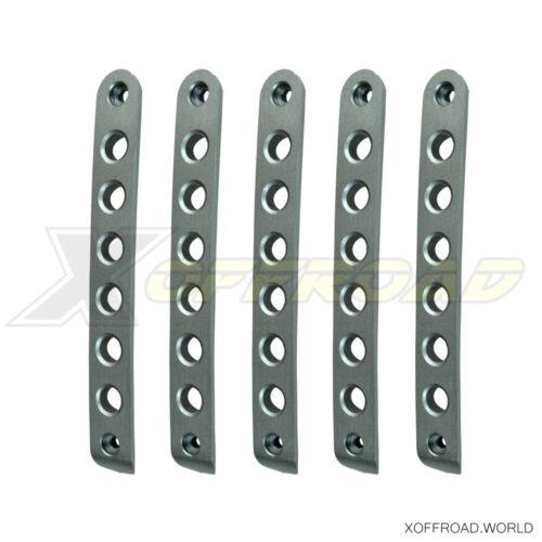 4 Puertas Jeep Wrangler JK Inserciones Manetas Puertas Plata Aluminio Cheroke
