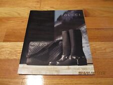FALL-WINTER COLLECTION 2006-2007 GUCCI CATALOG MENS HIGH FASHION/ACCESSORIES