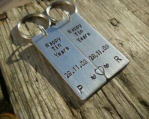 Happy Tin Years Personalised Wedding Anniversary Gifts Husband