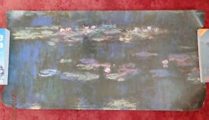 Details About Water Lilies Lily Green Reflections By Monet Poster 100 X 50 Cm 39 20