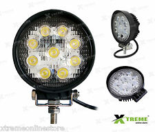 27w 9 Cree LED Slim Fog Off Road DRL Light For Range Rove Freelander 2