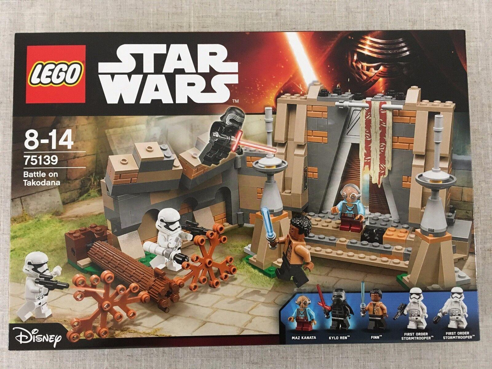 LEGO Star Wars The Force Awakens Battle On Takodana (75139) New/Sealed